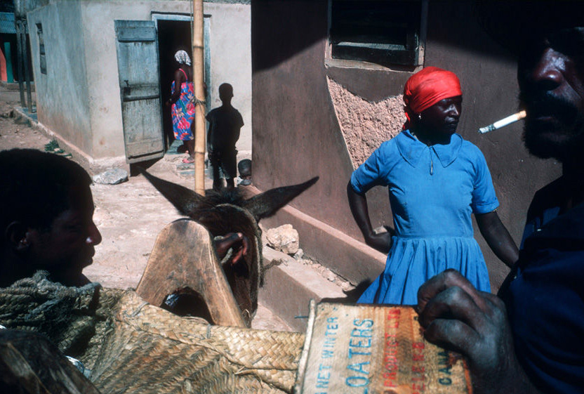 Haiti, 1986. © Alex Webb