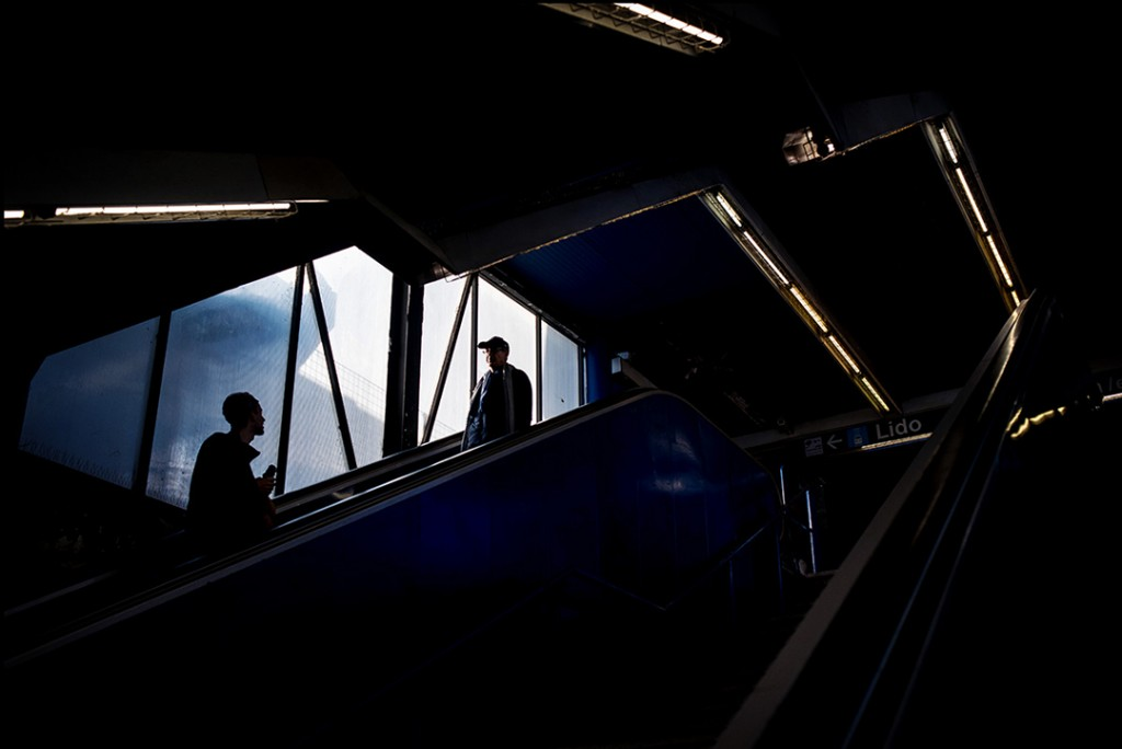 Pyramide metro station Rome-photo Tim Fox